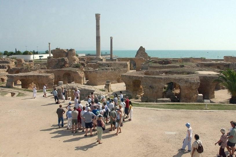 Wielowiekowa historia Kartaginy przyciąga tłumy turystów /AFP