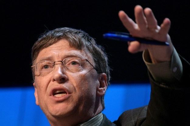 Wielu Amerykanów podziwia Billa Gatesa niczym przywódcę politycznego lub religijnego /AFP