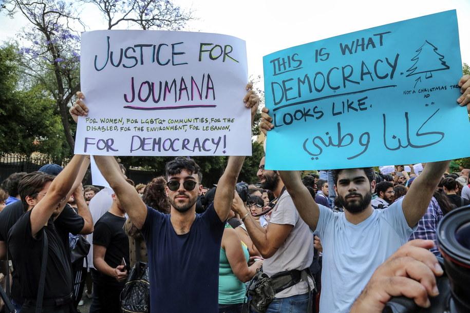 Wielu Libańczyków uważa, że wybory były nieuczciwe /NABIL MOUNZER   /PAP/EPA
