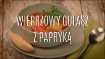 Wieprzowy gulasz z papryką