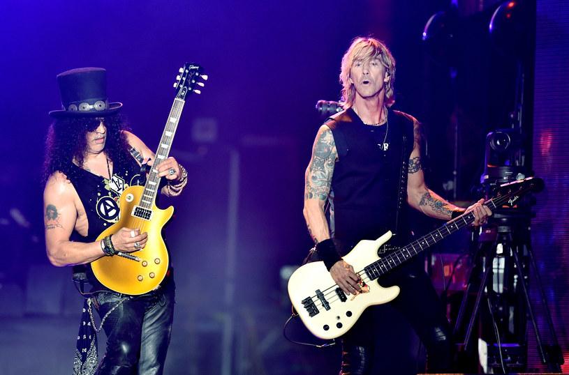 Wierni druhowie: Slash i Duff McKagan /fot. Kevin Winter /Getty Images