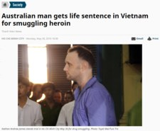 Wietnam: Australijczyk skazany na dożywocie za handel narkotykami