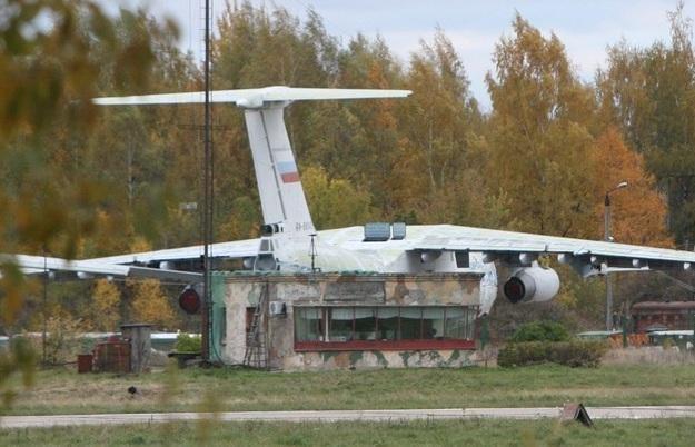"""""""Wieża"""" kontroli lotów w Smoleńsku, fot. S. Kowalczuk /East News"""