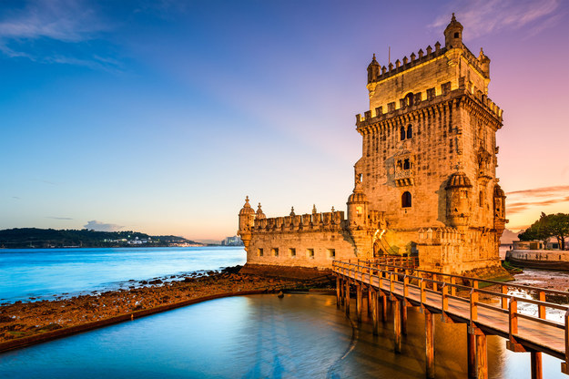 Wieża obronna Torre de Belém w Portugalii /123/RF PICSEL