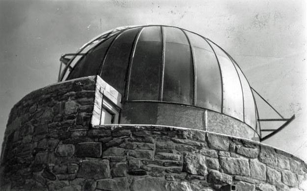 Wieża obserwatorium astronomicznego na górze Pop Iwan /Archiwum Tomasza Basarabowicza