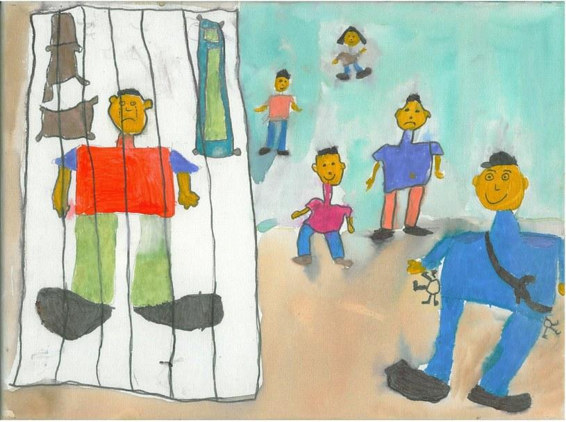 Więzienie oczami dziecka, fot. Probacja /