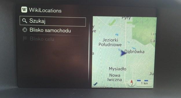 WikiLocations świetnie uzupełnia nawigację /INTERIA.PL