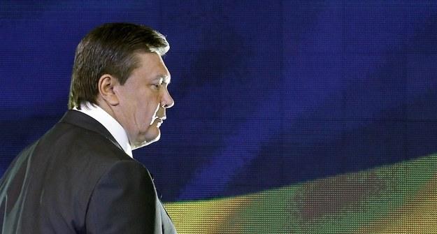 Wiktor Janukowycz /SERGEY DOLZHENKO /PAP/EPA