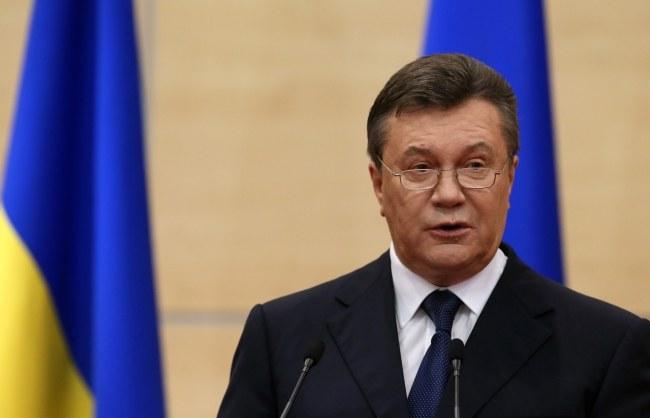 Wiktor Janukowycz /Sergei Ilnitsky /PAP/EPA