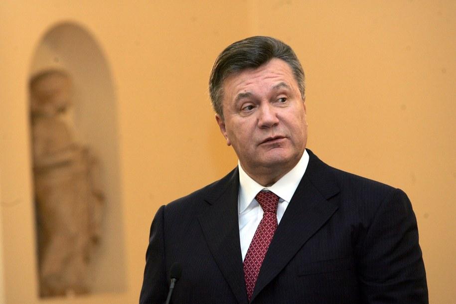Wiktor Janukowycz /MARIA MAROGIANNI    /PAP/EPA