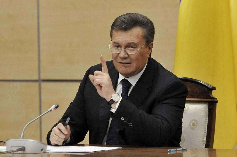 Wiktor Janukowycz /AFP