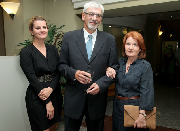 Wiktor Zborowski i Maria Winiarska z córką Zofią /MWMedia