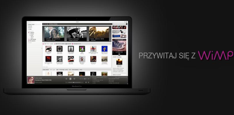 WiMP to nowość na polskim rynku /materiały prasowe