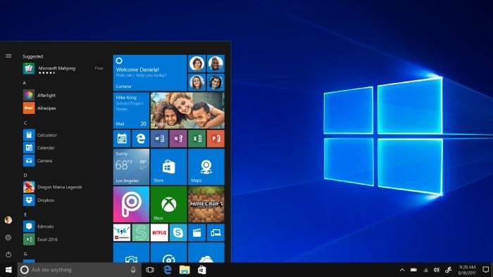 Windows 10 S najłatwiej można określić mianem okrojonej wersji Windowsa 10. /INTERIA.PL/informacje prasowe