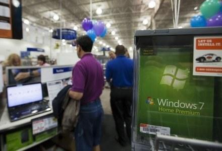 Windows 7 - zbyt wymagający? Na pewno mniej niż Vista. /AFP