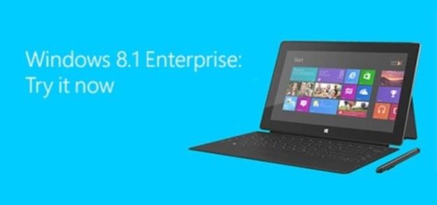 Windows 8.1 Enterprise w wersji Preview do pobrania /materiały prasowe