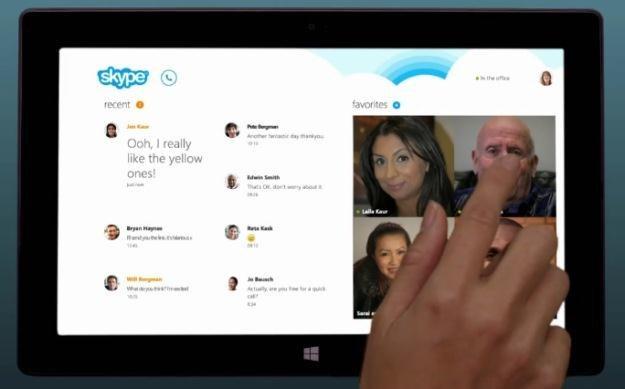 Windows 8 i dedykowana wersja komunikatora Skype /materiały prasowe
