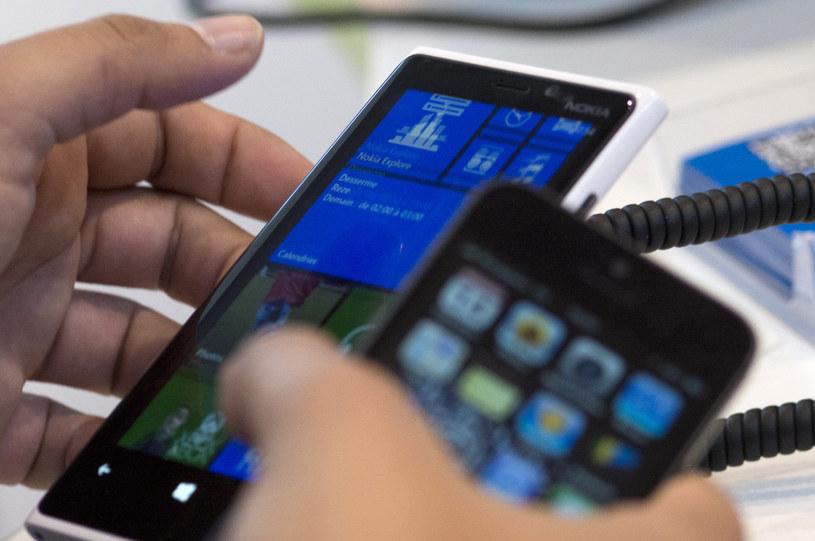 Windows Phone cieszy się w Polsce wyjątkowo dużą popularnością /AFP