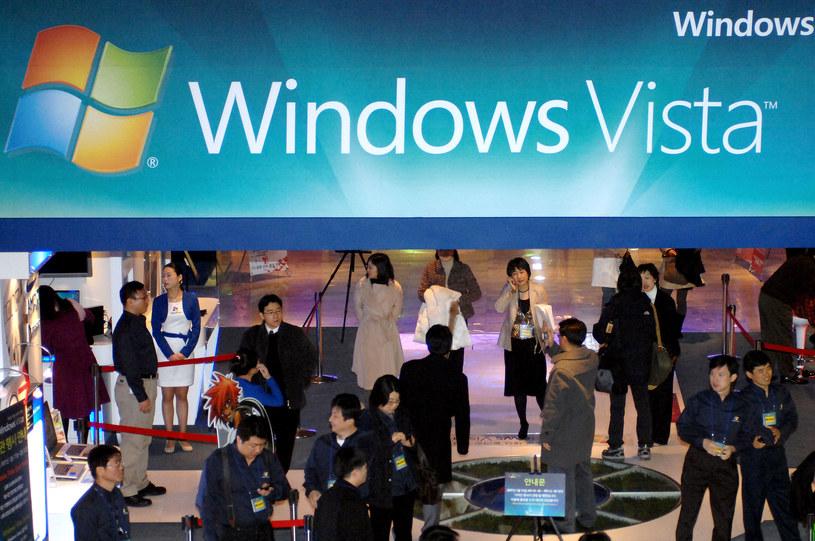 Windows Vista był następcą Windowsa XP /AFP