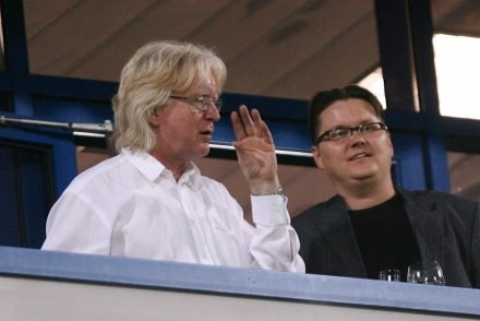 Winfried Schaefer na trybunach stadionu Wisły Kraków Fot. Tomasz Markowski /Agencja Przegląd Sportowy