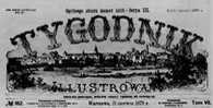 Winieta tytułowa ?Tygodnika Ilustrowanego? z 1879 /Encyklopedia Internautica