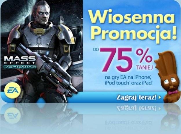 Wiosenna promocja Electronic Arts - motyw graficzny /Informacja prasowa