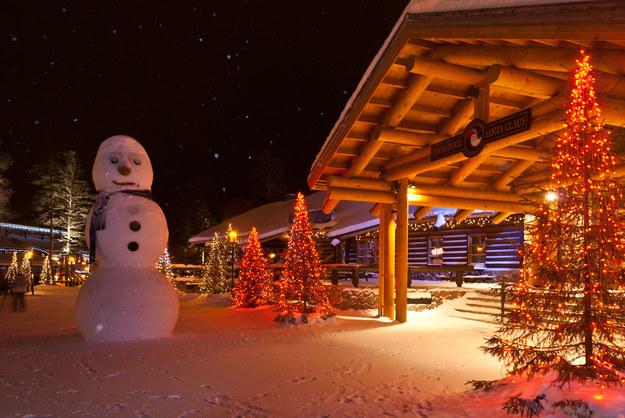 Wioska Świętego Mikołaja w Rovaniemi /123/RF PICSEL