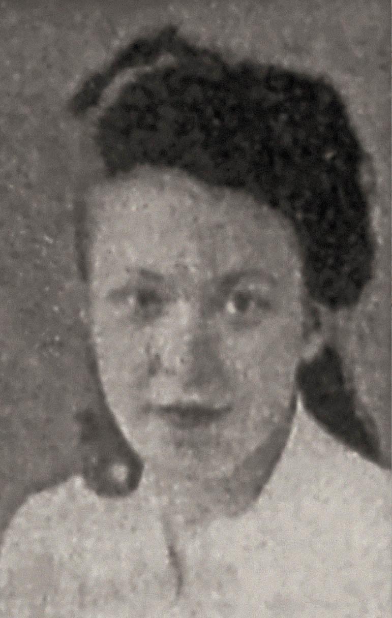 Wira w wieku 14 lat, po przystapieniu do ruchu oporu, 1944 rok /archiwum prywatne