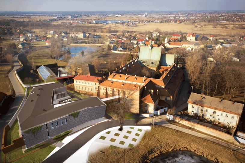 Wirydarze Dziedzictwa Benedyktyńskiego - wizualizacja na podstawie fot. Piotra Tumidajskiego /Styl.pl/materiały prasowe