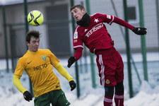 Wisła Kraków - Górnik Zabrze 1-2 w meczu towarzyskim