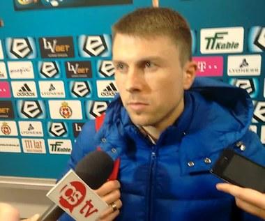 Wisła Kraków - Lech Poznań (0-0). Rafał Boguski po meczu z Lechem