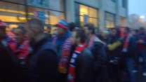 Wisła Kraków - Legia Warszawa 0-1. Tłumy kibiców. Wideo