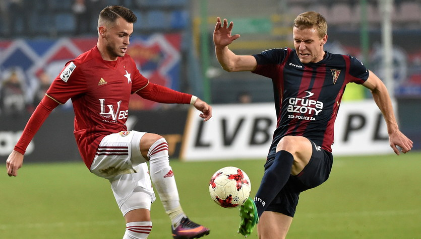 Wisła Kraków - Pogoń Szczecin 1-0 w 16. kolejce Ekstraklasy