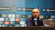 Wisła - Zagłębie 1-2. Lewandowski: Chciałbym pochwalić zespół za dyscyplinę taktyczną (wideo)