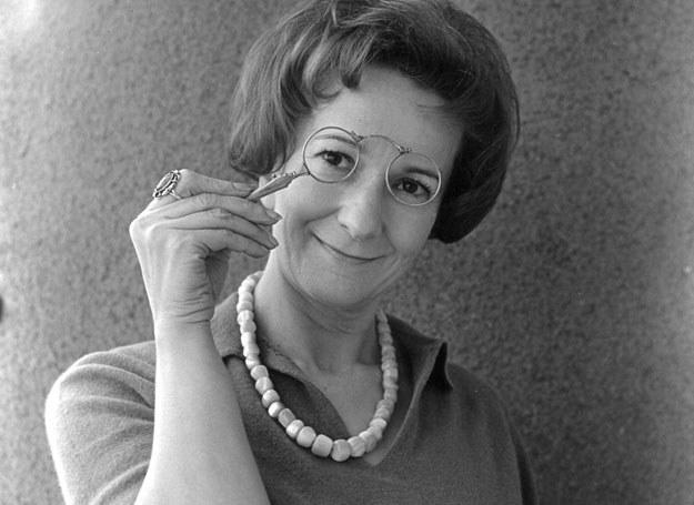 Wisława Szymborska, 1996 r. /East News