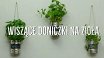 Wiszące doniczki na zioła z puszek