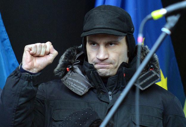 Witalij Kliczko /SERGEI SUPINSKY /AFP