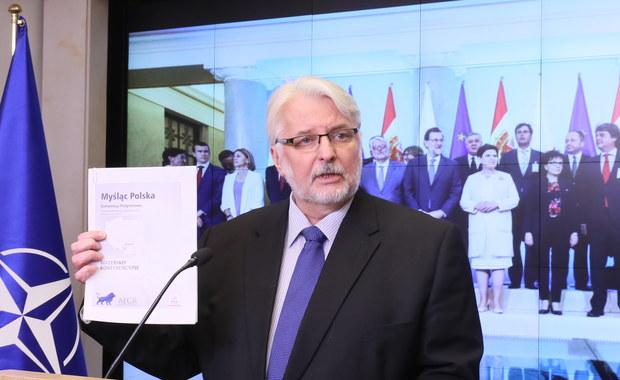 Witold Waszczykowski: Debata w PE została oparta o pogłoski rozpowszechniane przez polską opozycję