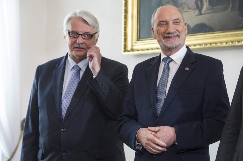 Witold Waszczykowski i Antoni Macierewicz /Jacek Domiński /Reporter