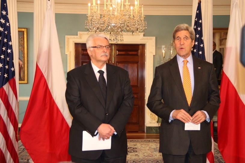 Witold Waszczykowski i John Kerry /Paweł Żuchowski /RMF FM