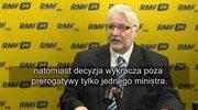 Witold Waszczykowski: Pracujemy nad sprawą reparacji