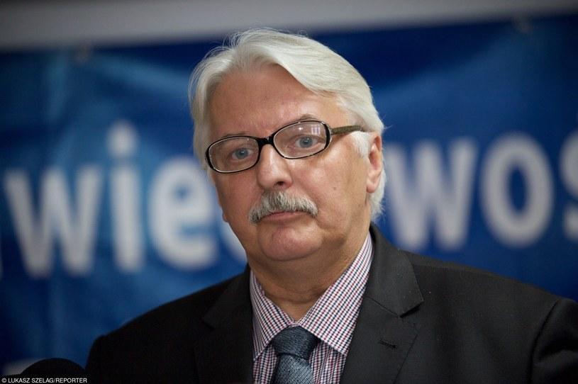 Witold Waszczykowski, szef MSZ /Łukasz Szeląg /Reporter