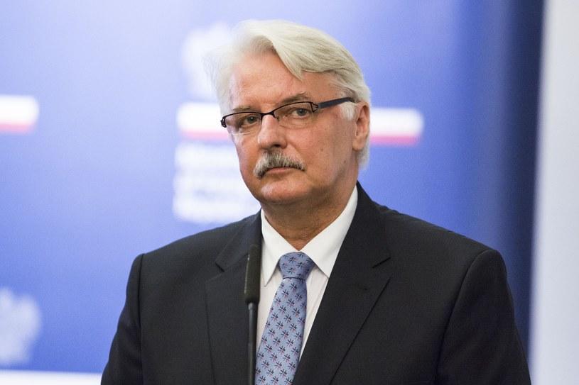 Witold Waszczykowski /fot. Andrzej Hulimka/REPORTER /East News
