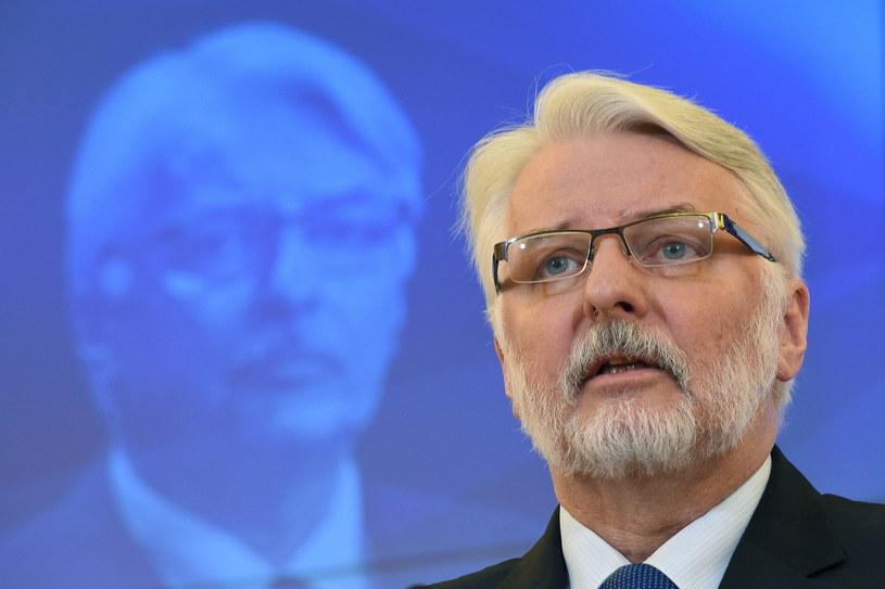 Witold Waszczykowski /Radek Pietruszka   (PAP) /PAP
