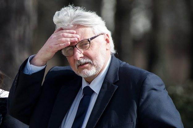 Witold Waszczykowski /Rafał Oleksiewicz /Reporter