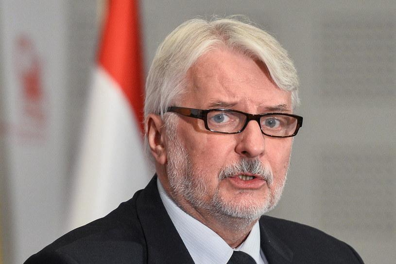 Witold Waszczykowski /Łukasz Dejnarowicz /Agencja FORUM