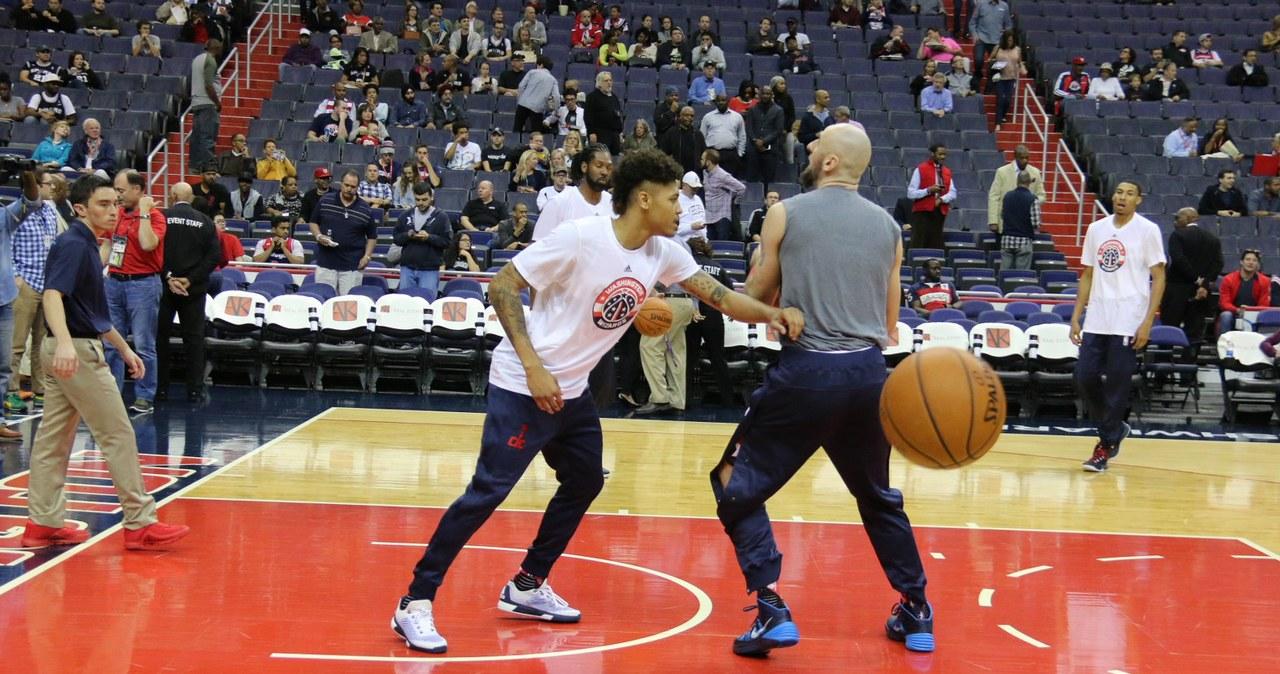 Wizards kontra San Antonio. Zdjęcia z treningu