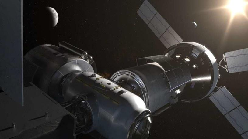 Wizja artystyczna DSG /NASA