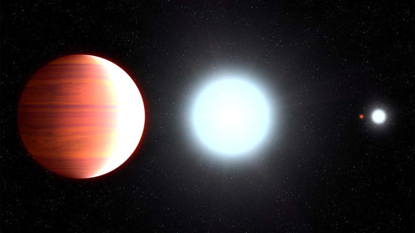 Wizja artystyczna planety Kepler-13Ab /materiały prasowe