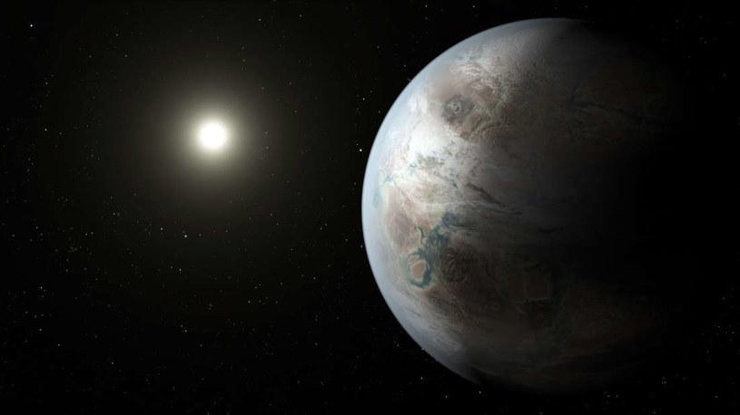 Wizja artystyczna planety Kepler-452b /NASA
